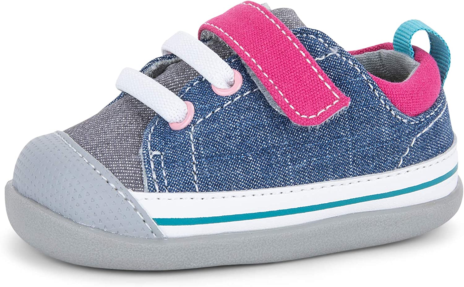 See Kai Run Stevie II for Walker Infants Popular First Year-end annual account Sneakers