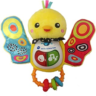 Vtech Baby Soft Singing Birdie Rattle Toy, 185303 Multi Color