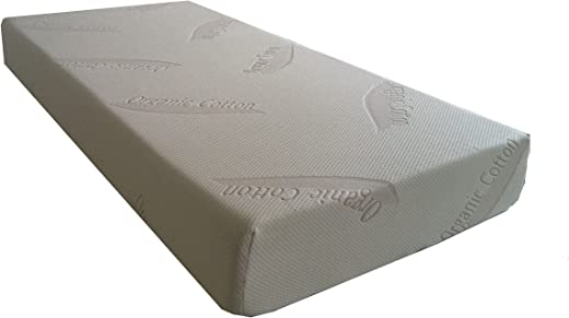 B00U0X645M✅SoftHeaven Mattress Topper Organic Cotton All Around Zipper, Bed Bug Dust Mite Replacement Cover for 2″/3″/4″ Memory Foam or Latex Pad, Full