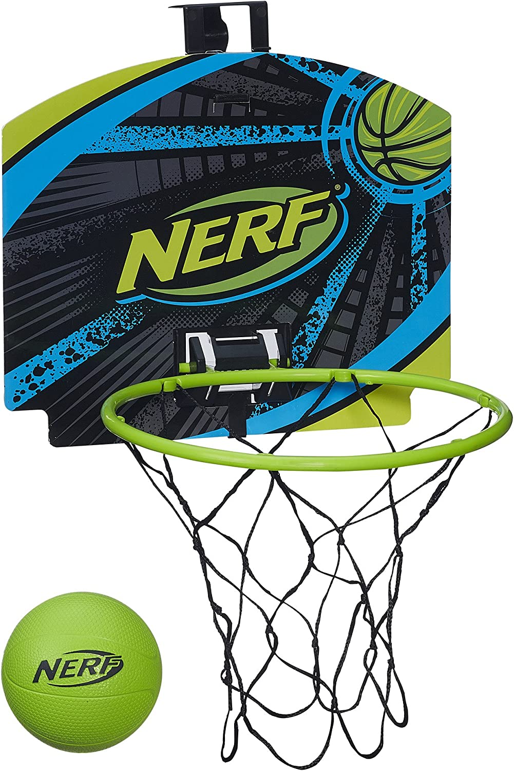 Hasbro Nerf n-Sports nerfoop Set, grün grau