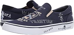 Newport Navy Yale Graphic Canvas