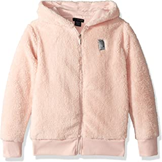 Girls' Long Sleeve Jersey Hoodie