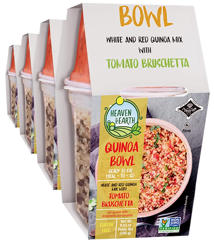 Arlington Mall Heaven Fashion Earth Quinoa Bowl with Pack Tomato 6.5oz Bruschetta 4