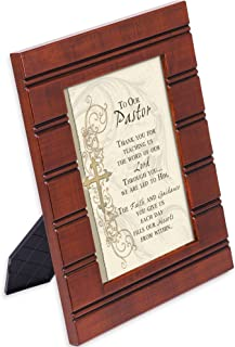 Cottage Garden Pastor Thank You for Guidance 8 x 10 Beaded Board Wood Finish Picture Frame Plaque