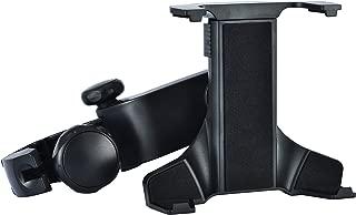 (iSmile) ヘッドレスト 後部座席 車載用 タブレット ホルダー ipad/ipad mini 7-11 インチ 対応 360度回転式