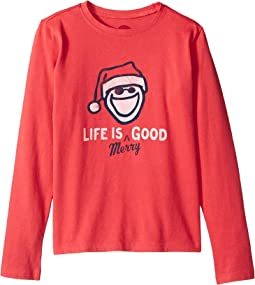Life is Merry Good Crusher Long Sleeve T-Shirt (Little Kids/Big Kids)