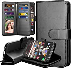 Takfox Samsung Galaxy S7 Wallet Case, Samsung S7 Case Wallet Case PU Leather Wallet Magnetic Flip Kickstand Protective with 9 Card Holder Cover Detachable Case for Galaxy S7-Rose Gold