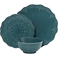 12-Piece The Pioneer Woman Farmhouse Lace Dinnerware Set