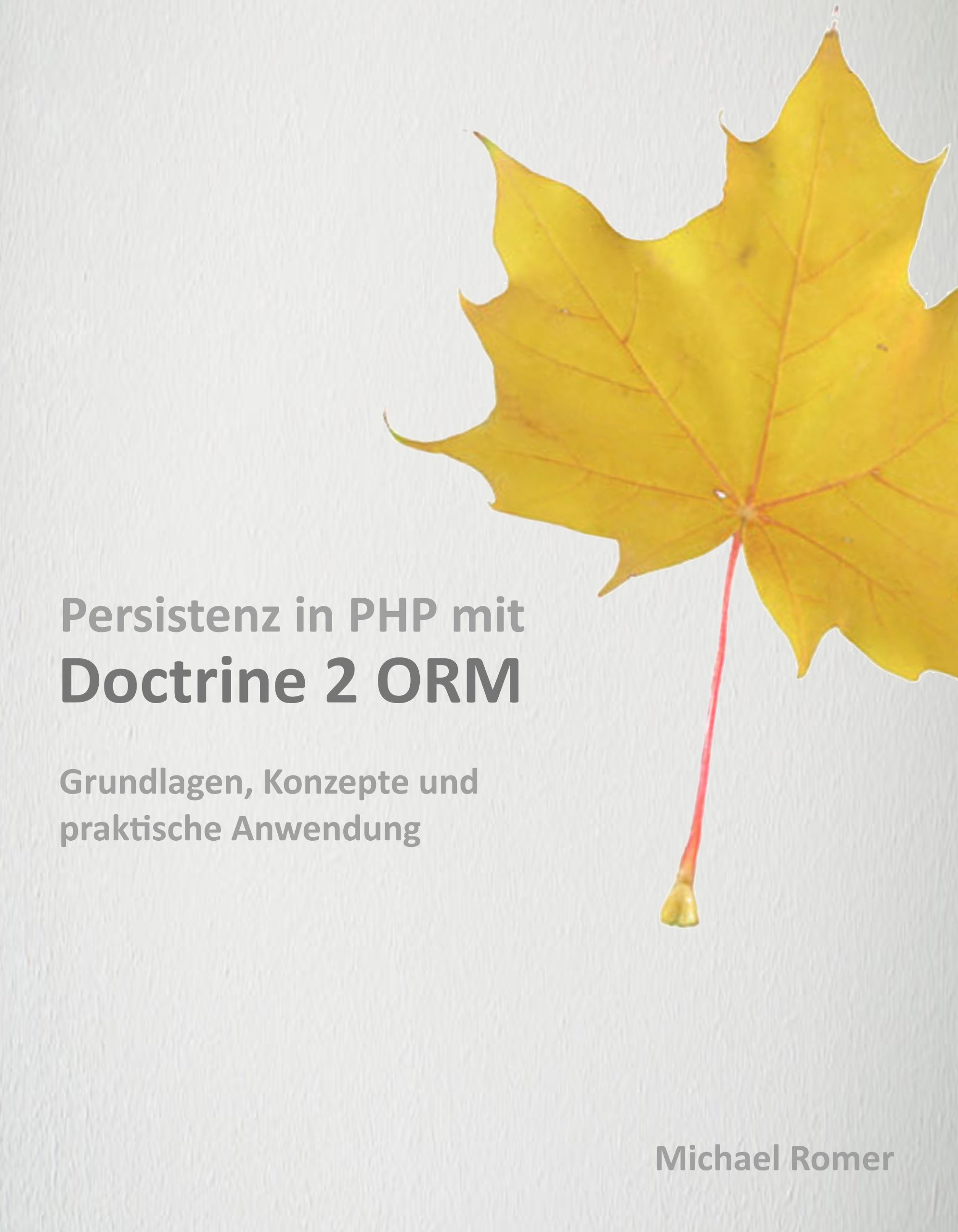 Persistenz in PHP mit Doctrine 2 ORM (Early Access Edition) (German Edition)