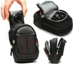 Navitech Black Digital Camera Case Bag Compatible with The Polaroid iS827