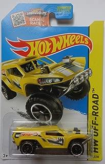 Hot Wheels 2015 HW Off-Road Land Crusher 102/250, Yellow