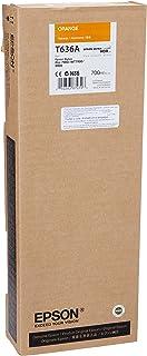 Epson UltraChrome HDR Ink Cartridge - 700ml Orange (T636A00)