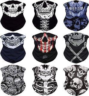 JOEYOUNG Headwear, Bandana, Neck Gaiter Head Wrap Headband Balaclava Magic Scarf One Size Fit Most