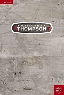 RVR60 Biblia de Referencia Thompson, Tapa Dura (Spanish Edition)