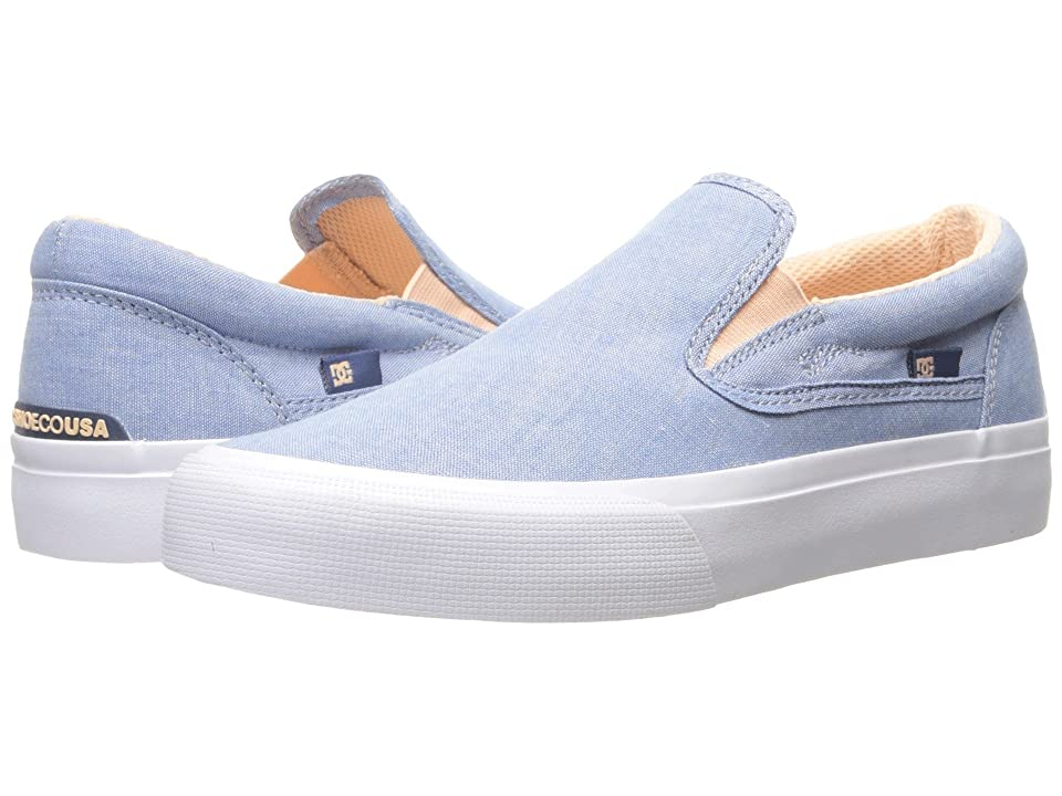 DC Trase Slip-On TX SE (Blue/White) Women