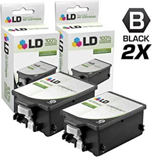 LD Remanufactured Ink Cartridge Replacement for HP 14 C5011DN (Black, 2-Pack)