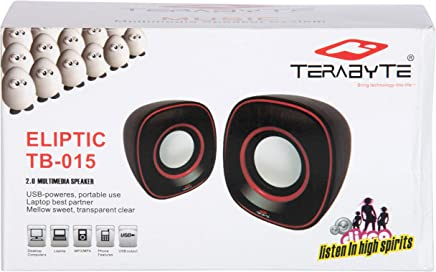 Terabyte USB 2.0 Portable Multimedia Speaker (Multicolor)