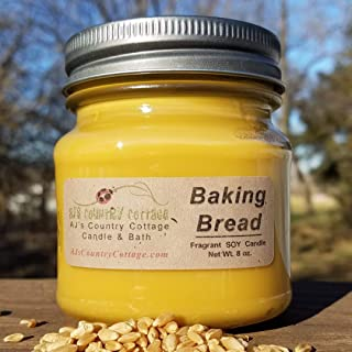 Baking Bread Soy Candle - Fresh Homemade Baked Bread