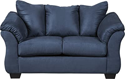 Sensational Amazon Com Newport Fabric Back Vinyl Seat Loveseat Gmtry Best Dining Table And Chair Ideas Images Gmtryco