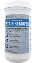 Essential Values Swimming Pool & Spa Stain Remover (2 LBS) - Natural & Safe, Works Best for Vinyl Liners, Fiberglass, Metals – Removes Rust & Other Tough Stains Without The Use of Harsh Chemicals