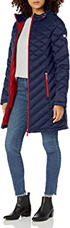 Women's Midlength Hooded and Quilted Packable Jacket