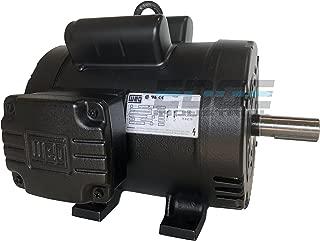 WEG 00518OS1CCD184T ODP Compressor Duty Definite Purpose Electric Motor, 5 HP, Single-Phase, 1745 RPM, 208-230 V, 60 Hz, Frame 184T