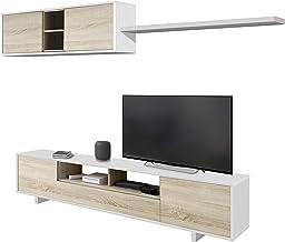 Habitdesign 1F6682BO - Mueble de salón Moderno, modulos