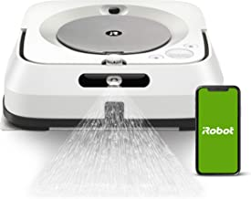 iRobot Braava Jet M6 (6110) Ultimate Robot Mop- Wi-Fi Connected, Precision Jet Spray, Smart Mapping, Works with Alexa, Ide...