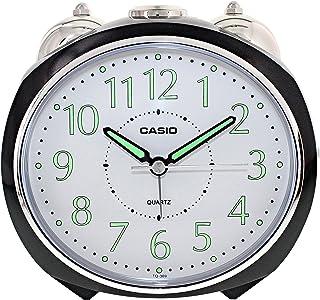 Casio TQ-369-1 Desk Alarm Clock, Black