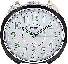 Casio TQ-369-1DF Analog Alarm Clock, Black