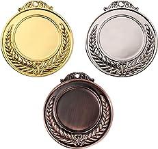 Vosarea 3 Stks Competitie Awards Tarwe Oor Sport Medailles Zinklegering Medaille Awards