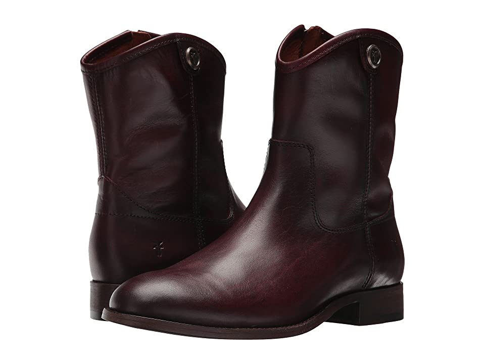 Frye Melissa Button Short 2 (Wine) Women