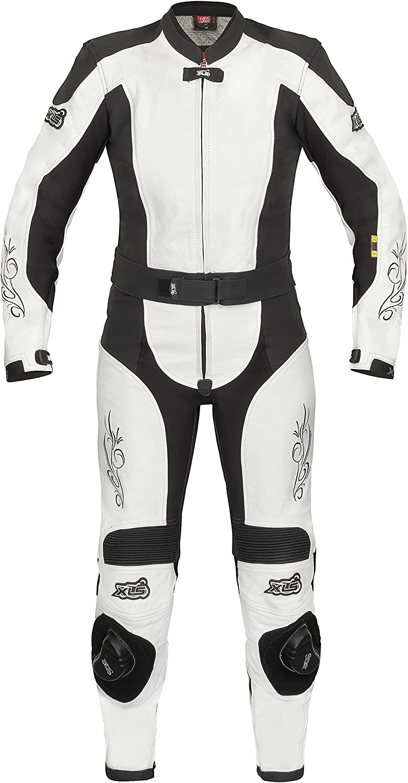 Xls Lederkombi Tribal Lady Damen Leather Suit Schwarz Weiß 34 Auto