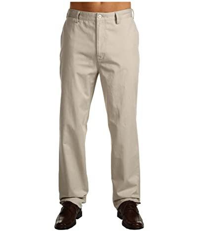 Nautica Big & Tall Big Tall True Flat Front Pant (True Stone) Men