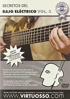 Virtuosso Electric Bass Method Vol.3 (Curso De Bajo Eléctrico Vol.3)