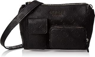 GUESS Women's Ilenia Pocket Crossbody, Black - SG747314