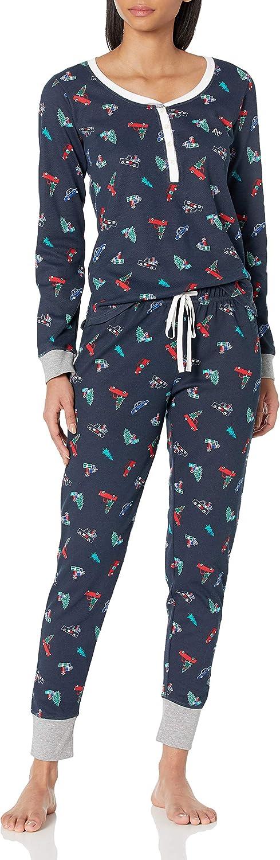 Tommy Hilfiger Women's Thermal Long セール商品 Sleeve Set 誕生日プレゼント Pj Pajama Ski