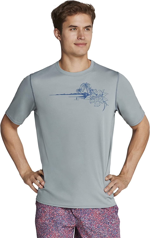 Attention brand Speedo Men's Uv Swim Challenge the lowest price Shirt Graphic Tee Short Sleeve