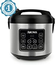 Aroma Housewares 20 Cup Cooked (10 cup uncooked) Digital Rice Cooker, Slow Cooker, Food..