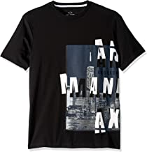 AX ARMANI EXCHANGE T-Shirt Art:3GZTAQ ZJ4CZ (XS, Black)