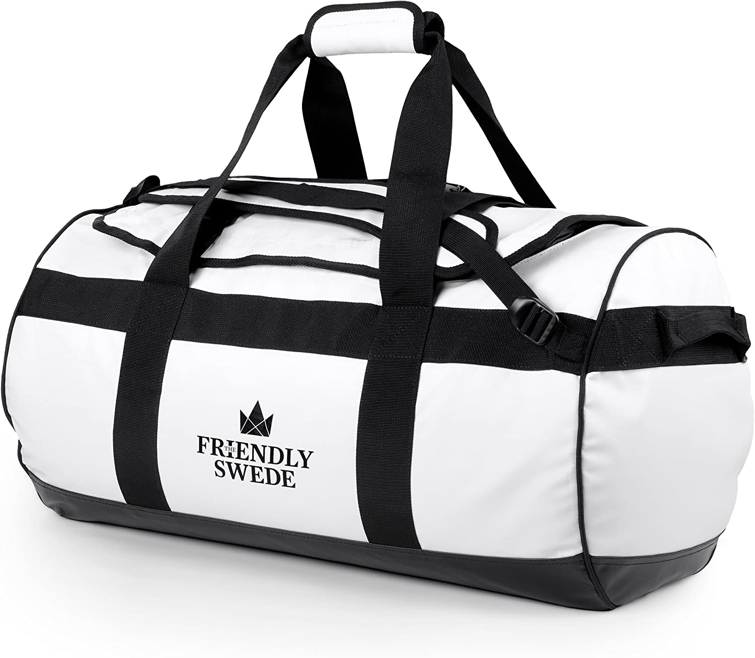 The Friendly Swede Duffel Animer and price revision bag with for Ranking TOP11 Straps Trav Backpack Gym