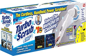 Turbo Scrub 360 Turbo Scrub-360 Cordless, Rechargeable Floor Scrubber and Tile Cleaning Machine