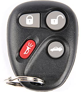 ACDelco 10357131 GM Original Equipment 4 Button Keyless Entry Remote Key Fob