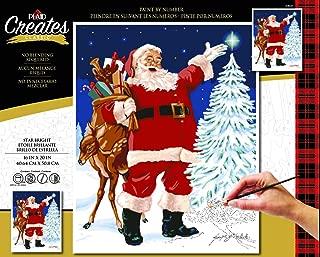 Plaid Enterprises, Inc. 44601 Star Bright Paint by Number Kit, 16
