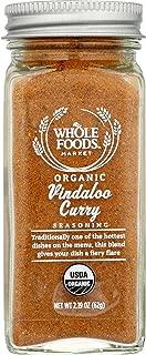 Whole Foods Market, Organic Vindaloo Curry Seasoning, 2.19 oz