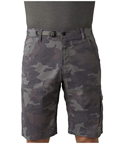 Prana Stretch Zion Shorts (Gravel Camo) Men