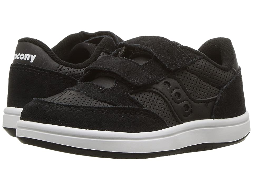 Saucony Kids Originals Jazz Court (Toddler/Little Kid) (Black) Kids Shoes