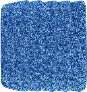 5 Pack Microfiber Spray Mop Replacement Head Damp Mop Cleaning Pad Mop Head Refills Easy Cleaning Mop Head Replacement