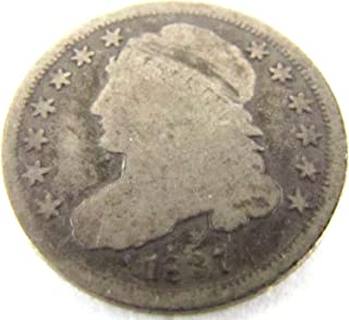 1837 Capped Bust Dime Good