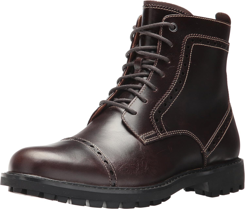 CLARKS Men's Montacute Cap Ankle Boot